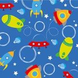 Rockets background Stock Image