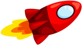 Rocketship Royalty Free Stock Images
