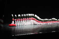 Rockettes at Radio City Music Hall, New York City Stock Photography