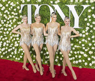 Rockettes Royalty Free Stock Photography