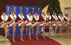 Rockettes Stock Photo