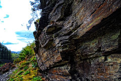 Rockface close-up Royalty Free Stock Photo