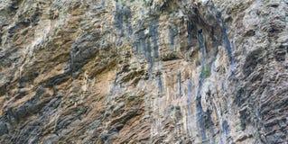 Rockface. A photo of a rockface taken from below Stock Photos