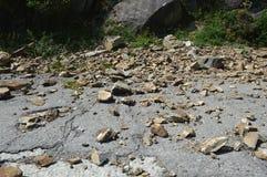 rockfall Стоковые Изображения RF