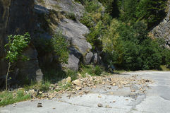 Rockfall Stock Photo