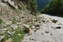 Rockfall Stock Images