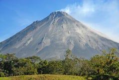 Rockfall do vulcão de Arenal Fotografia de Stock Royalty Free