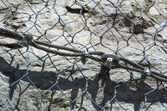 Rockfall protection Stock Images