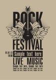 Rockfestival lizenzfreie abbildung