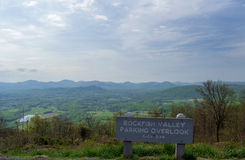 Rockfish Valley Overlook Stock Image