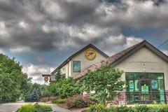 ROCKFORD que elabora cerveza en ROCKFORD Michigan Fotos de archivo libres de regalías