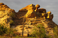 Afrikaanse landschappen Stock Fotografie
