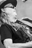 Rockgruppe von Schweden gibt Hölle auf Stadium Stockfotografie