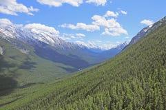 Rockies canadienses. Foto de archivo libre de regalías