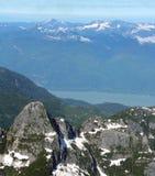 Rockies canadienses, Canadá Foto de archivo libre de regalías