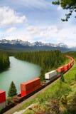 Rockies canadienses, parque nacional de Banff, Canadá Foto de archivo libre de regalías