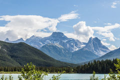 Rockies by Canmore Royalty Free Stock Photos