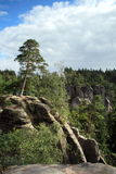 Rockies in Czech paradise. (Europe Royalty Free Stock Images