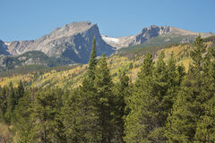 Rockies in Fall Royalty Free Stock Images