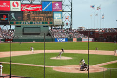 Rockies-Giants at AT&T Park, 9/14/06 Royalty Free Stock Photos