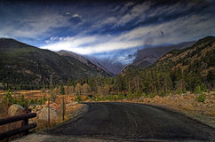 Rockies in HDR Stock Image