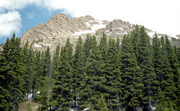 Rockies mountains, Colorado. This picture was taken during a trip in Colorado, Utah and Arizona Royalty Free Stock Image