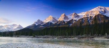 Rockies que despiertan Imagen de archivo libre de regalías