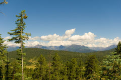 The rockies in the summertime Stock Images