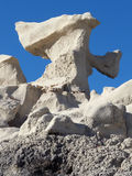 Really Rockin. Unusually shaped desert landscape and rock in the Southwest Stock Photos