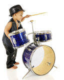 Rockin' Drummer Stock Photography