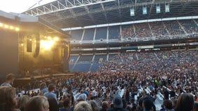 Rockin ` koncert Zdjęcia Stock
