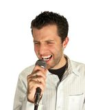 Rockin' out royalty free stock photo