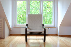 Rocking armchair Royalty Free Stock Image