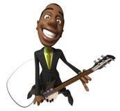 Rocking business man Royalty Free Stock Image