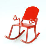 Rocking Chair. Toy metal rocking chair Stock Photos