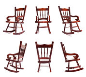 Rocking Chair Collection Royalty Free Stock Photo