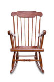 Rocking Chair Isolated Stock Image