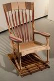 Rocking chair. Mutli wood rocker Royalty Free Stock Photos