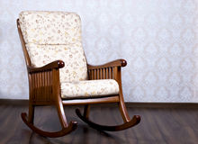 Rocking chair for the rest Stock Images
