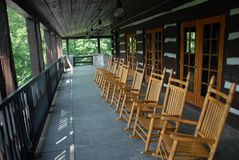 Rocking chairs Stock Photography
