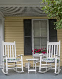 Rocking Chairs Royalty Free Stock Photography