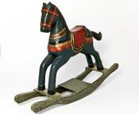 Rocking horse. On white background Stock Image