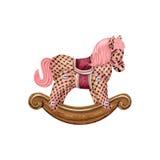 Rocking horse Royalty Free Stock Photos