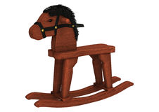 Rocking Horse Stock Photo