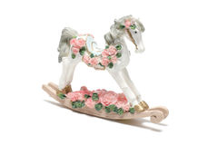 Rocking Horse Figure Stock Images