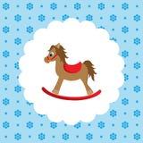 Rocking horse. Icon. Stock Image