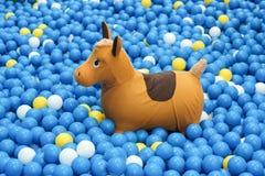 Rocking horse Stock Photography