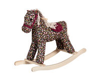 Rocking horse kids toy Royalty Free Stock Photography