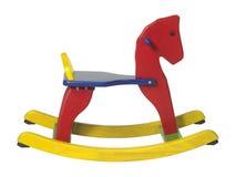 Rocking horse sideways Royalty Free Stock Photo