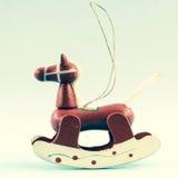 Rocking horse Royalty Free Stock Images